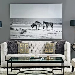 leather chesterfield sofa beige color beckett - grey matters shades of gray get a boost ...