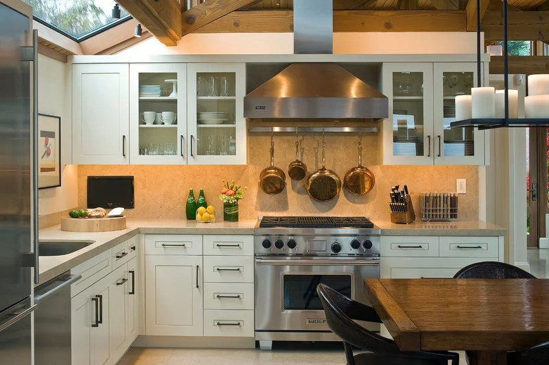 Beach Style Kitchen by Kristi Will Home + Design