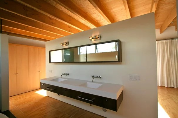 Modern Bathroom by The Brown Studio