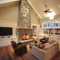 Fireplace Vaulted Ceiling Ideas
