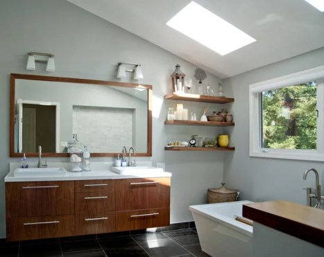 Modern Bathroom by anat shmariahu