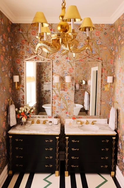 eclectic bathroom by Summer Thornton Design, Inc