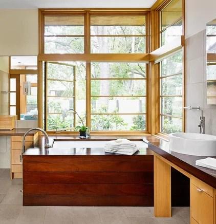 Asian Bathroom by Webber + Studio, Architects