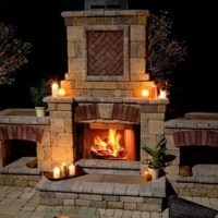 Shop Traditional Outdoor Fireplaces on Houzz