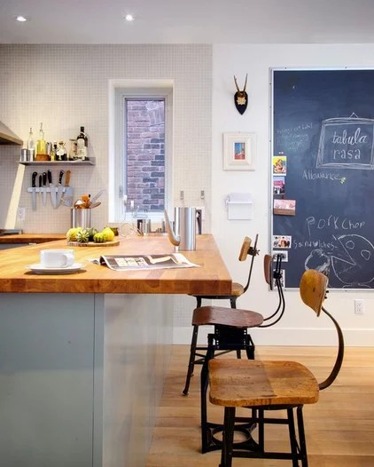 eclectic kitchen by Andrew Snow Photography