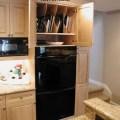 Slide out storage basket kitchen cabinet organization rubbermaid