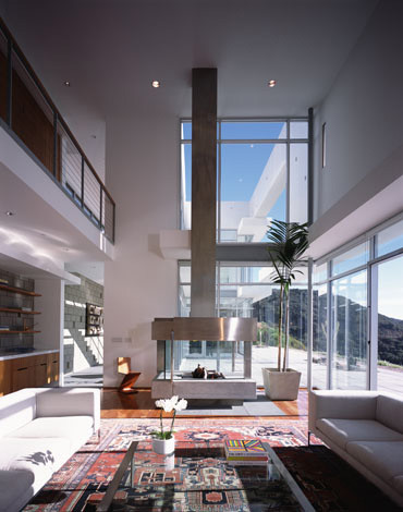 KANNER ARCHITECTS modern living room