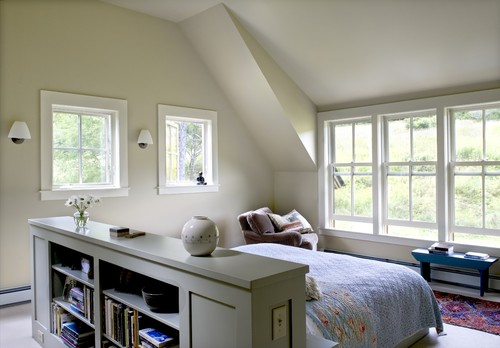 Farmhouse Reinterpreted contemporary bedroom