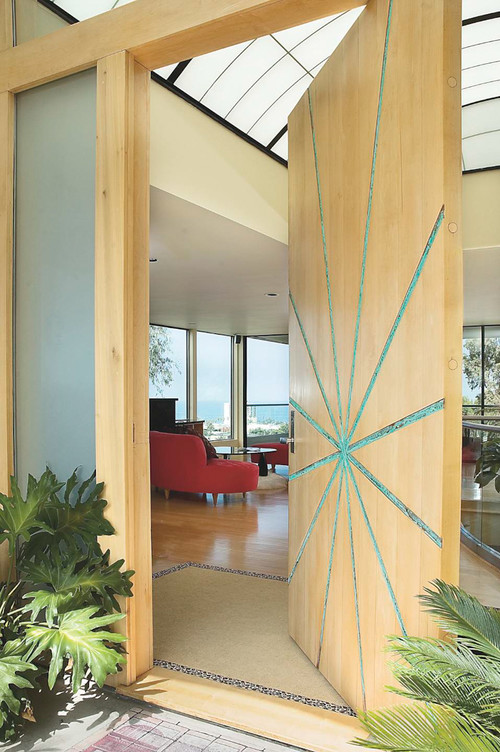 Rhoda House modern entry