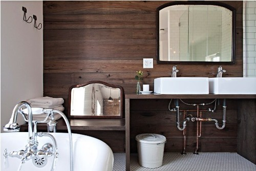 Vintage Meets Modern Bathrooms at Longman & Eagle | Apartment Therapy Chicago  bathroom