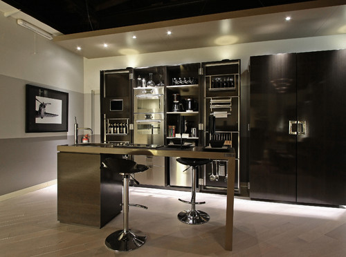 Urban Loft contemporary kitchen