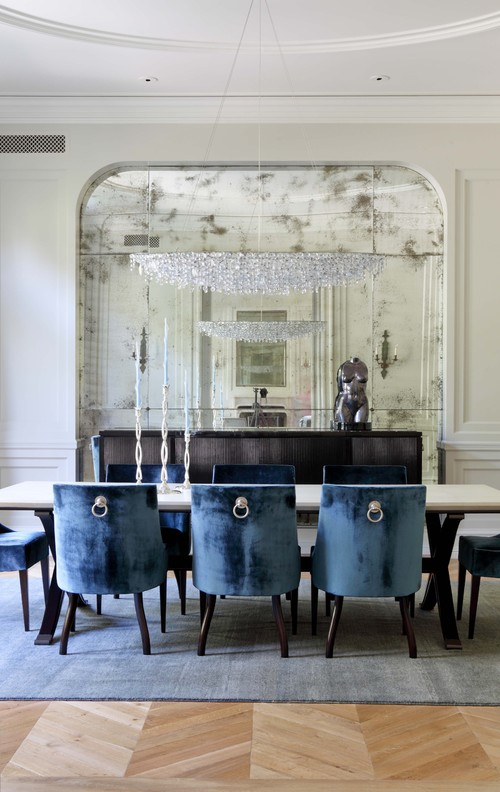 William Hefner Architecture Interiors & Landscape traditional dining room