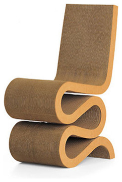 Wiggle Side Chair by Vitra modern chairs