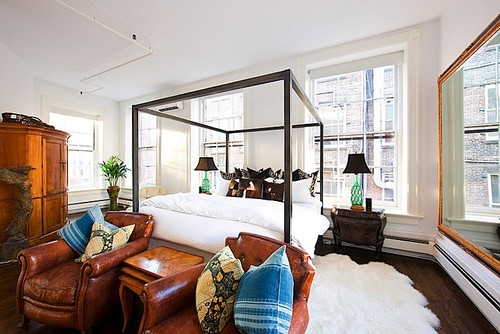 Soho Loft eclectic bedroom