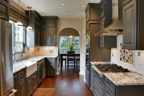 Jason Ball Interiors eclectic kitchen