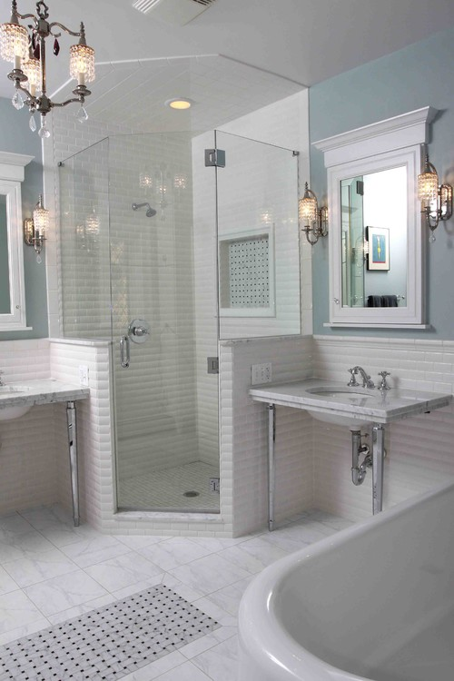traditional bathroom by Normandy Builders