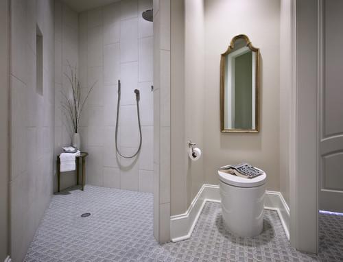 Handicapped Guest Bath contemporary bathroom