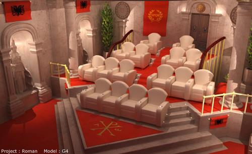 Elite traditional media room