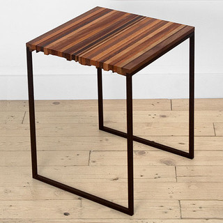 Striper Line by Uhuru contemporary side tables and accent tables