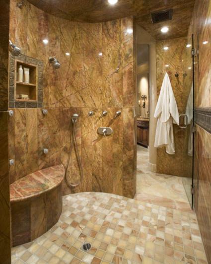 modern bathroom by Adam Stockett