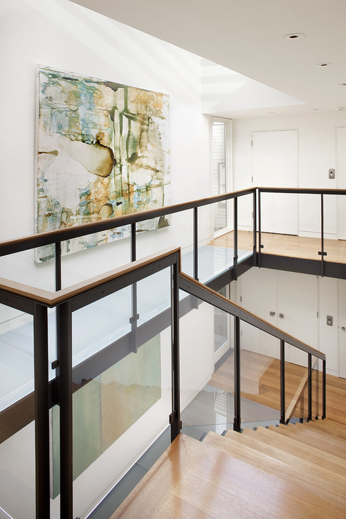 Russian Hill modern staircase