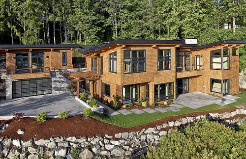 contemporary exterior by Six Walls Interior Design