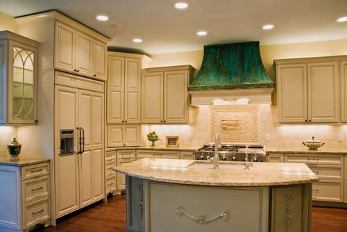 El Greco Renovation traditional kitchen