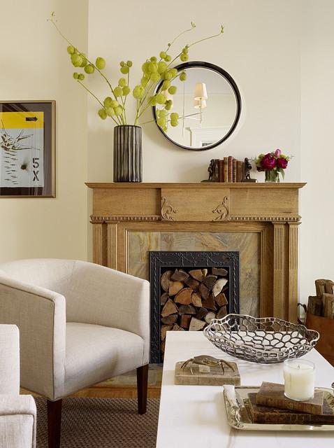 Noe Valley Living Room modern living room