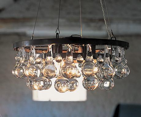 Artic Pear Chandelier eclectic chandeliers