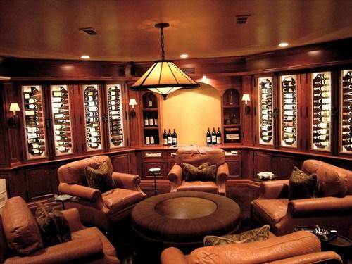 traditional wine cellar by Benvenuti and Stein