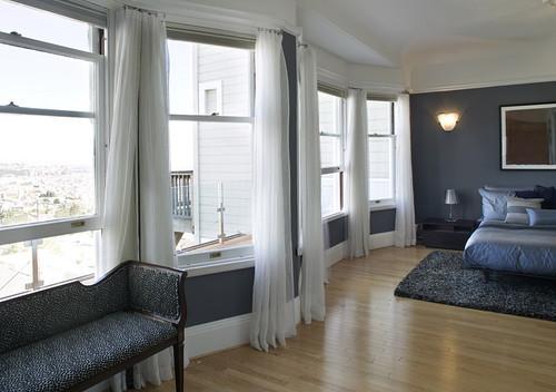 Feldman Architecture modern bedroom