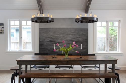 Mill Valley contemporary dining room