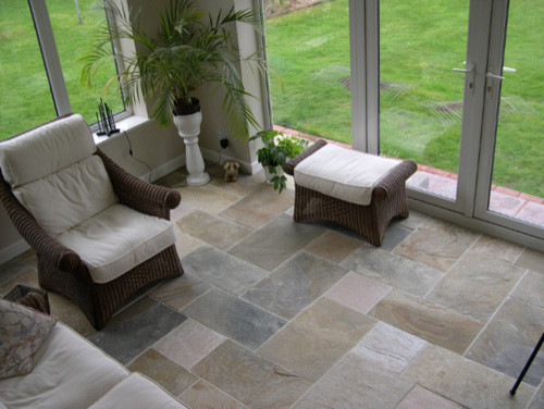 eclectic floor tiles by travertine-floors-travertine-flooring.com