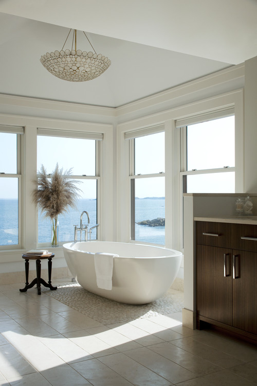 Rocky Ledge Bath contemporary bathroom
