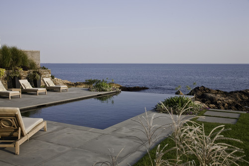 Rocky Ledge Pool contemporary pool