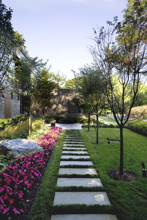 Sustainable Long Island Residence modern landscape