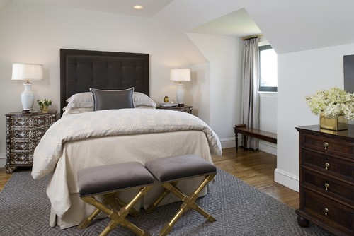 Greenwich Penthouse contemporary bedroom