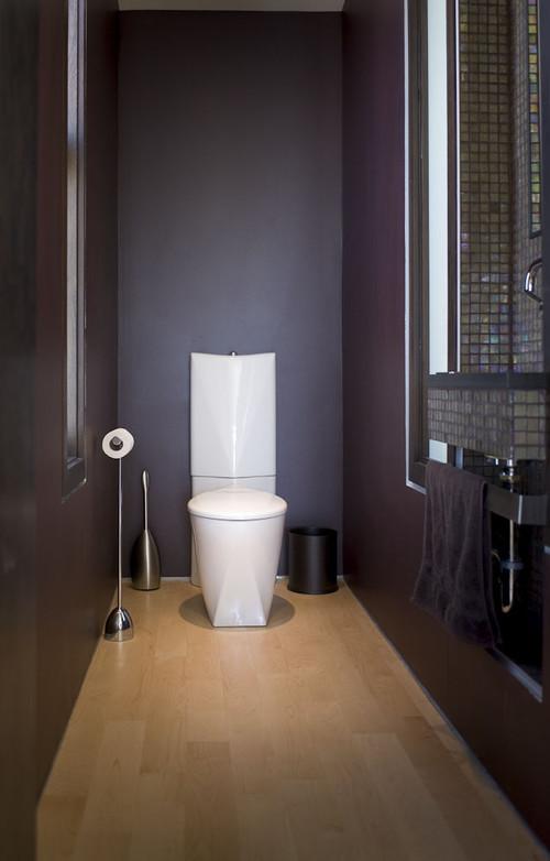 22nd modern powder room
