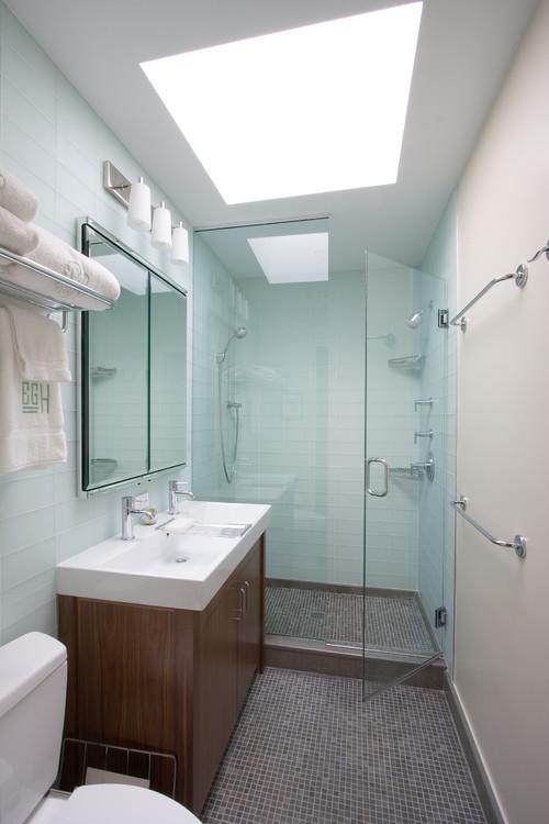 Modern Bathrooms for Smaller Spaces  Dallas Home Design