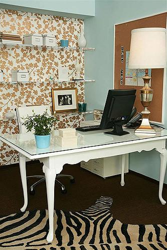 Vanessa De Vargas / Turquoise L.A. home office