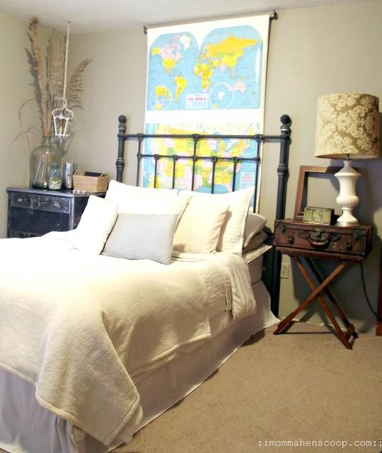 My Eclectic bedroom eclectic bedroom