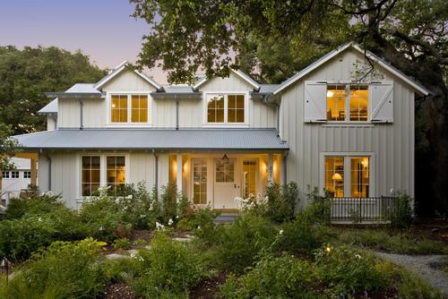 Menlo Oaks Residence traditional exterior