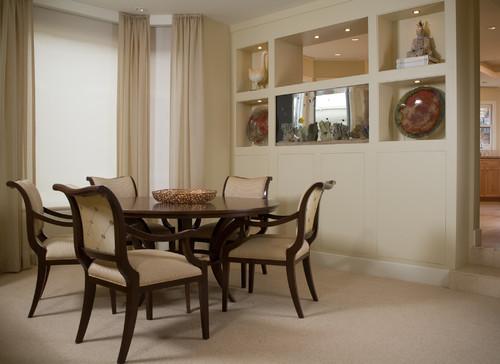 LA JOLLA CONDO- DINING ROOM contemporary dining room