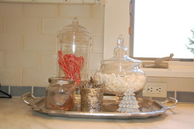 traditional kitchen Mel Christmas