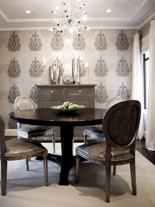 Amoroso Design contemporary dining room