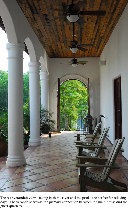 The Front Door / Dwayne Carruth mediterranean porch