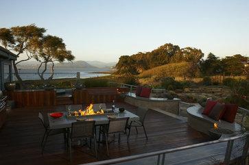 Back Bay Retreat eclectic landscape