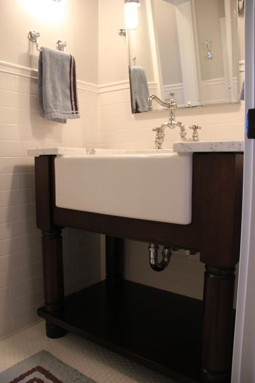 bathroom farmhouse sinks image of bathroom and closet