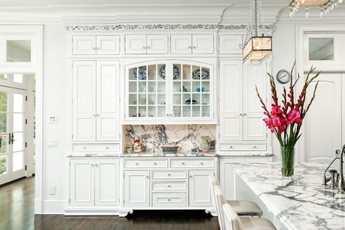 French Vanilla traditional kitchen