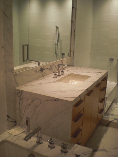 Design Trend Marble  Granite Waterfall Countertops